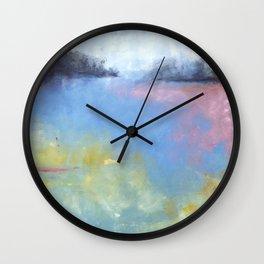 Memory of Lake crescent Wall Clock