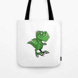 Cute Cartoon Dragon Tote Bag