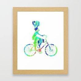 Cycling 314 Framed Art Print