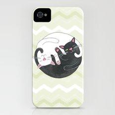 Cat Philosophy iPhone (4, 4s) Slim Case