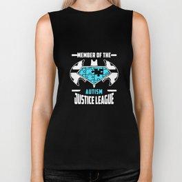 Autism Awareness Hanes Tagless Autism T-Shirts Biker Tank