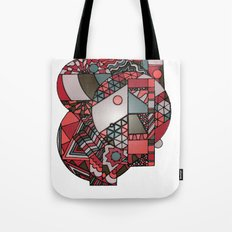 Geometricsdos Tote Bag