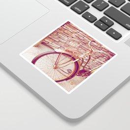 Rusty Spokes Sticker