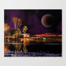 When dreams are living in my sleep Canvas Print