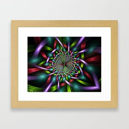 Wrapping Ribbons Framed Art Print