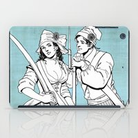 pirates iPad Cases featuring Pirates by Art of Tom Tierney