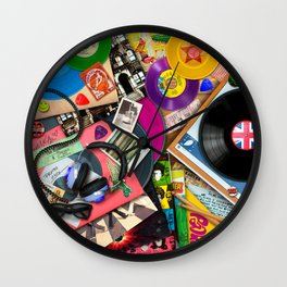 Viva le Vinyl Wall Clock