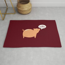 An Honest Meal Rug