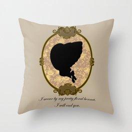 A Captain's Promise Throw Pillow