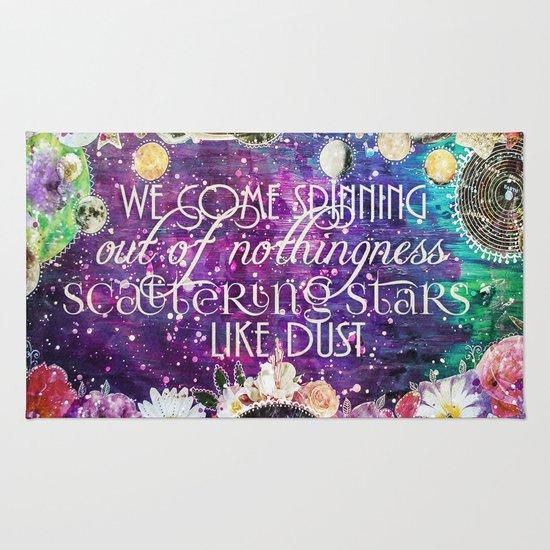 Scattering Stars Like Dust Rug