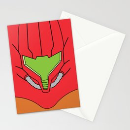Minimalist Samus Stationery Cards