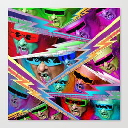 Punk For Life Canvas Print