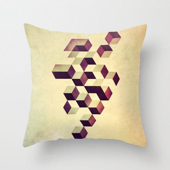 isyzymbyyz Throw Pillow