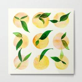 Wild Lemons Metal Print