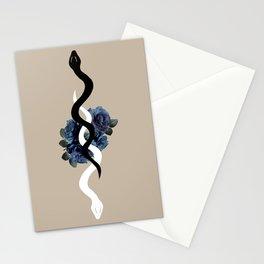 Yin Yang Snake Glam #1 #wall #art #society6 Stationery Cards