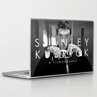 kubrick Laptop & iPad Skins featuring Opening Kubrick by Martin Woutisseth
