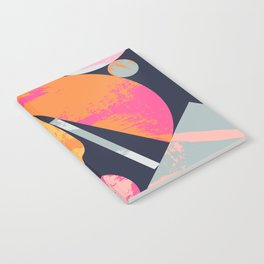Bright Paper Cut Shapes Notebook