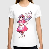 puppycat T-shirts featuring bee & puppycat by SERAPHIC ROYALTY