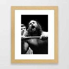 Matysic / King Kong Brody Framed Art Print