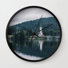 Bohinj, Slovenia Wall Clock