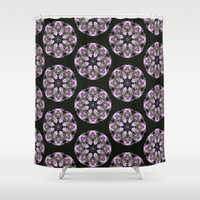 lavender Shower Curtains featuring Lavender by Selene