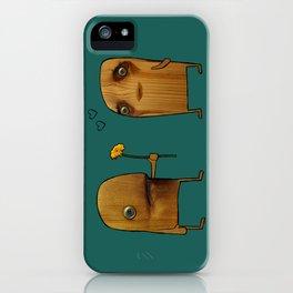 Wood He Love Me? iPhone Case