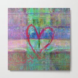 For when the segmentation resounds, abundantly. 14 Metal Print
