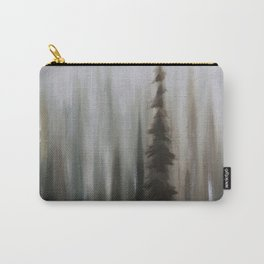 Pacific Northwest Forest oil painting by Jess Purser Carry-All Pouch