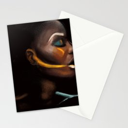 Fade to black Stationery Cards