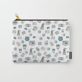 photograp items pattern Carry-All Pouch
