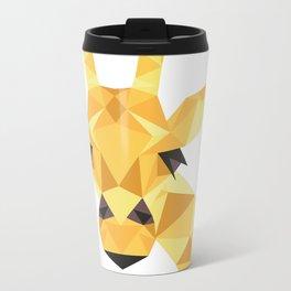 a giraffe Metal Travel Mug