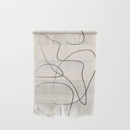 Abstract Line I Wall Hanging