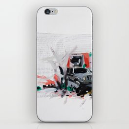 Accident one iPhone Skin
