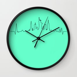 New York Music Wall Clock