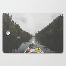 Live the Kayak Life Cutting Board
