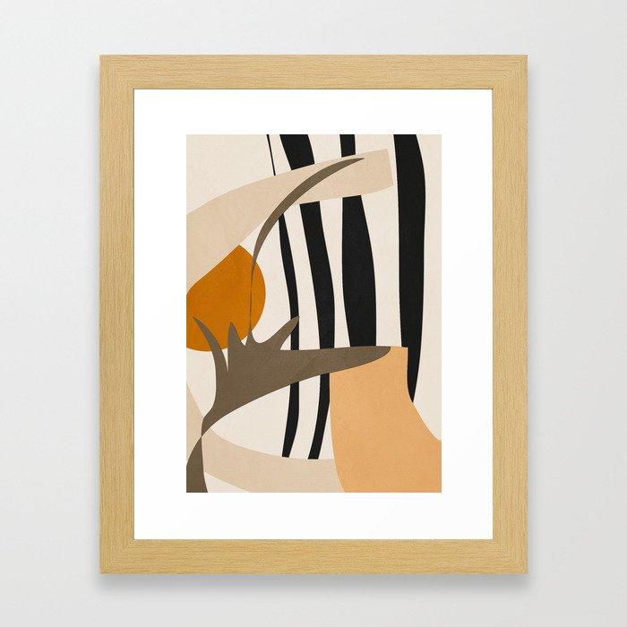 Abstract Art2 Gerahmter Kunstdruck