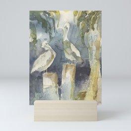 The Conversation Mini Art Print