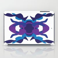 spaceship iPad Cases featuring Spaceship by David Nuh Omar