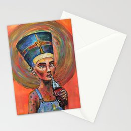 Ordinary Nefertiti Stationery Cards