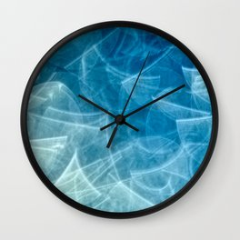 blueish something Wall Clock