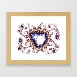 Mandelbrot Hybrid Framed Art Print