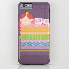 Princess and the pea iPhone Case