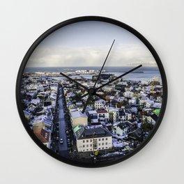Reykjavik, Iceland Wall Clock