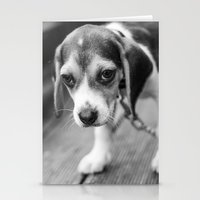 puppy Stationery Cards featuring Puppy! by Clayton Jones