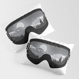Moonrise Goggles - B+W - Black Frame | Goggle Designs | DopeyArt Pillow Sham