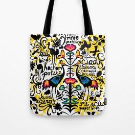 Wycinanki Folk Art Tote Bag