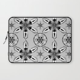 Black and White Sea Pods Laptop Sleeve
