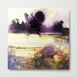 Firefly Meadow Metal Print