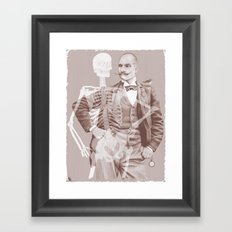 Crown Pursuit Framed Art Print