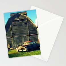 1950 Cadillac & Barn Stationery Cards